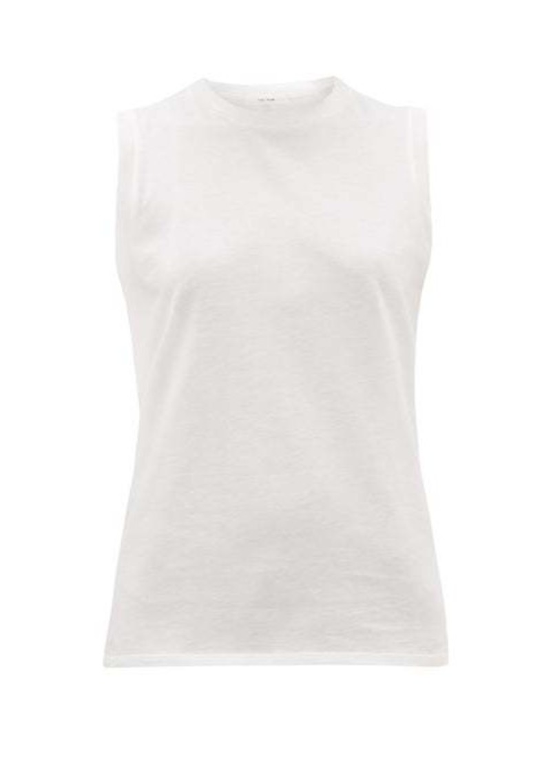 The Row Mani cotton-jersey tank top
