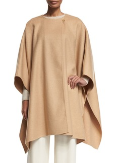 THE ROW Marcella 3/4-Sleeve Wrap Cape