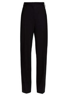 The Row Matea wide-leg wool-blend trousers