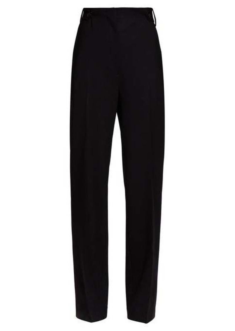The Row Matea wide-leg wool-blend trousers