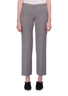 THE ROW Mavery Mid-Rise Straight-Leg Pants