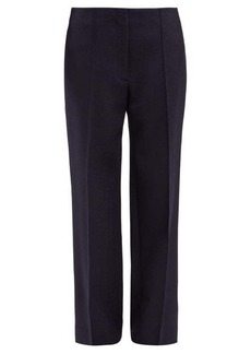 The Row Max straight-leg wool-twill trousers