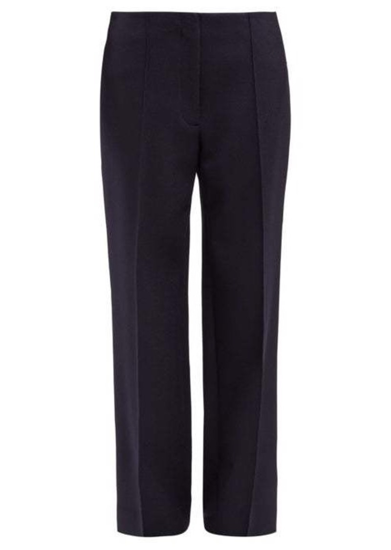 The Row Max straight-leg wool-twill trousers