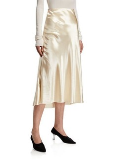 THE ROW Medela A-Line Long Skirt