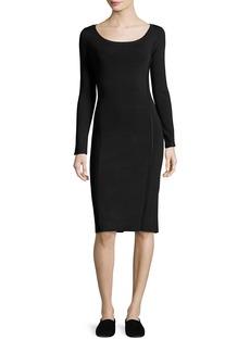 The Row Melindah Long-Sleeve Knit Dress