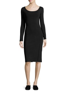 THE ROW Melindah Long-Sleeve Knit Dress