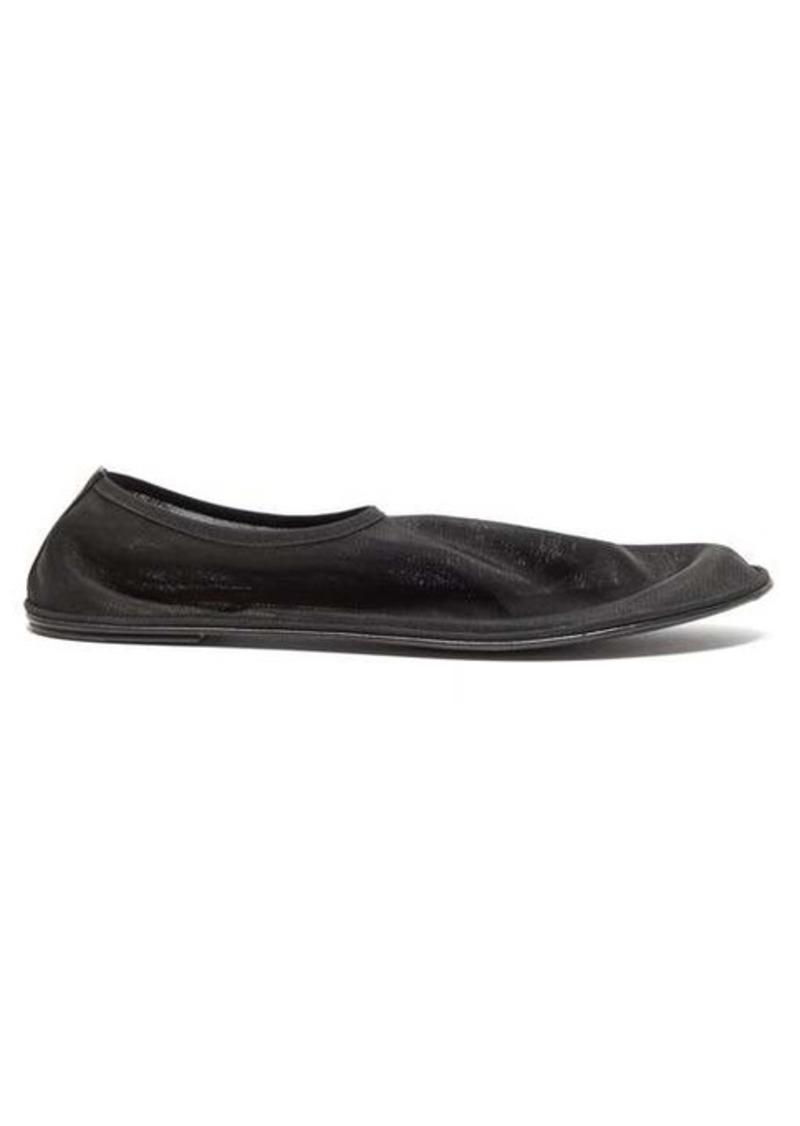 The Row Mesh slipper flats