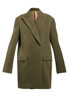 The Row Mewey oversized wool-blend coat