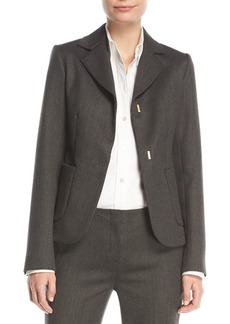 The Row Meylan Hook-Front Jacket