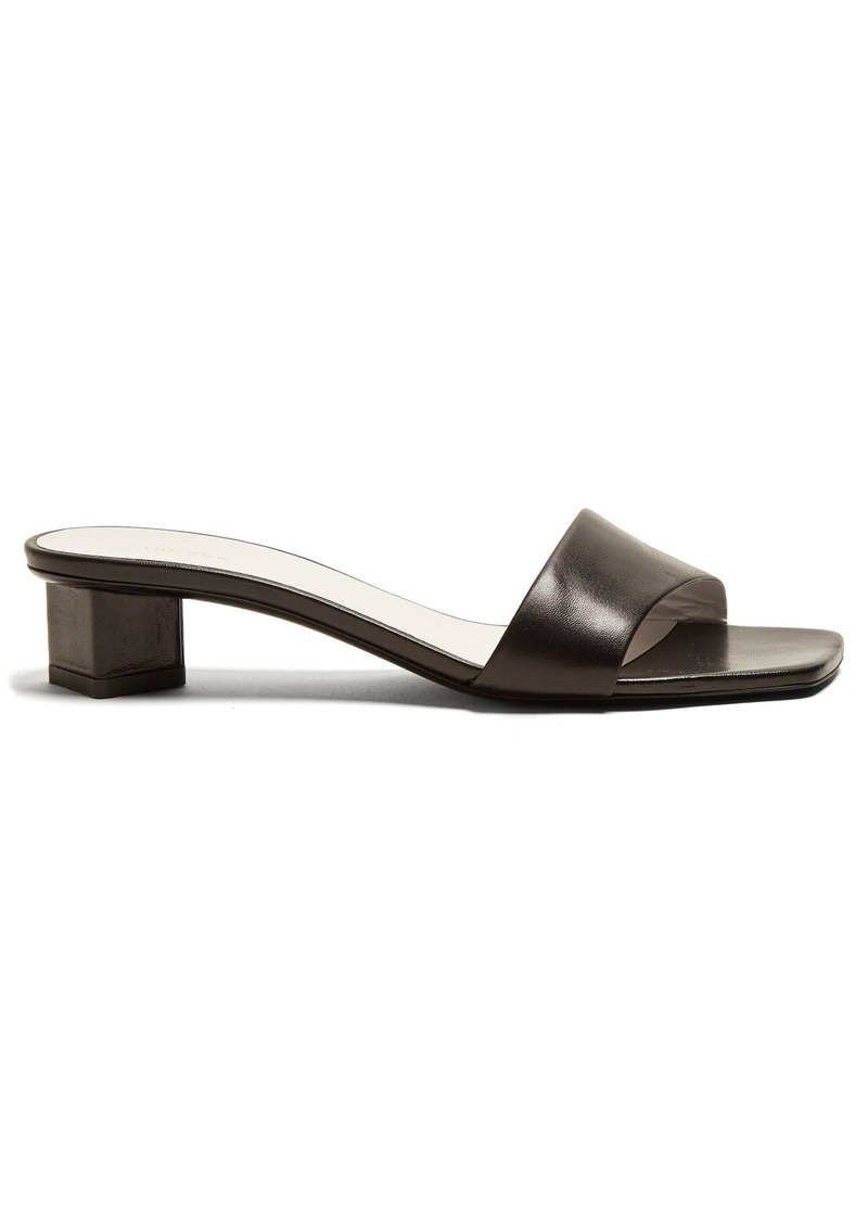 638e217fae1 The Row The Row Mid-heel leather sandals