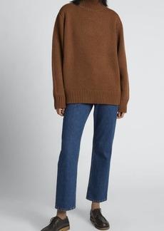 THE ROW Miliana Wool-Cashmere Turtleneck Sweater
