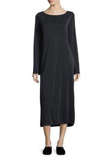 THE ROW Milla Long-Sleeve Midi Dress