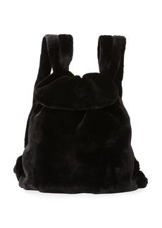 The Row Mink Fur Knapsack Bag