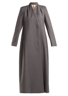 The Row Nalty double-breasted wool coat