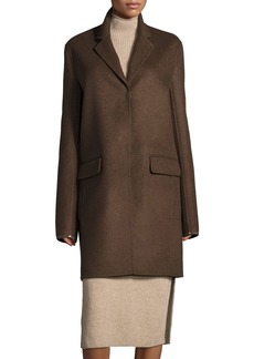 THE ROW Nesper Hook-Front Wool Coat