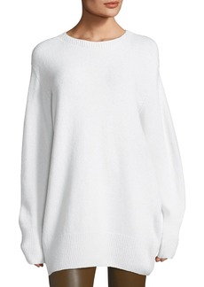 THE ROW Nolan Oversized Crewneck Sweater