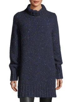 THE ROW Noon Cashmere Turtleneck Tunic