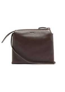 The Row Nu Twin mini leather cross-body bag