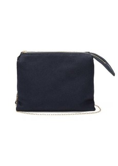 The Row Nu Twin mini matte-satin shoulder bag
