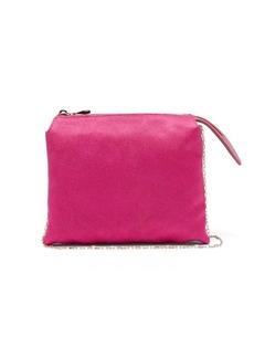 The Row Nu Twin mini satin shoulder bag
