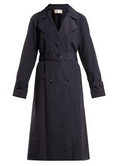 The Row Nueta nylon trench coat