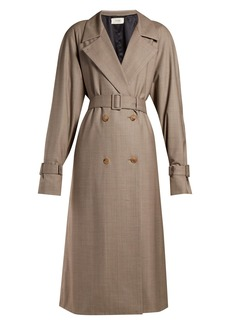 The Row Nueta wool trench coat