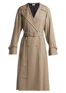 The Row Nueta wool trench coat