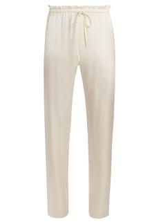 The Row Paco drawstring-waist wide-leg trousers