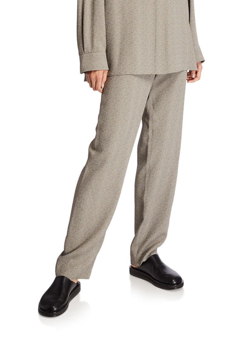 THE ROW Paco Straight-Leg Pants