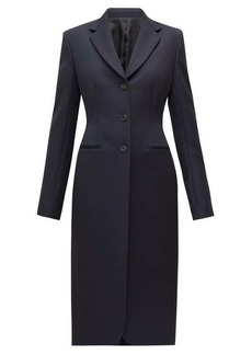 The Row Panois slim-fit single-breasted coat