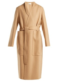 The Row Paret double-faced wool and cashmere-blend coat