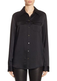 The Row Patrew Button Front Shirt
