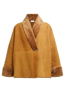 The Row Pernia shearling jacket