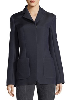 THE ROW Perse Hook-Front Jacket