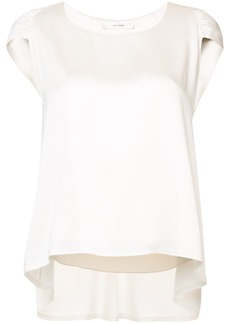 The Row pleated detail blouse - White