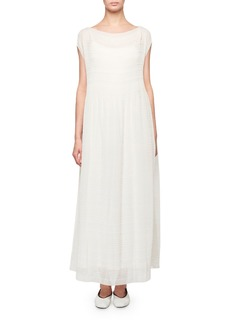 THE ROW Prado Dress Cap-Sleeve Dress
