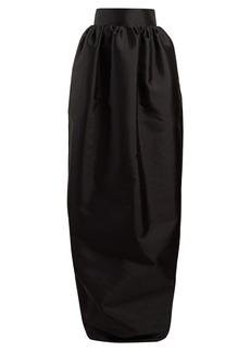 The Row Ranel silk-mikado maxi skirt