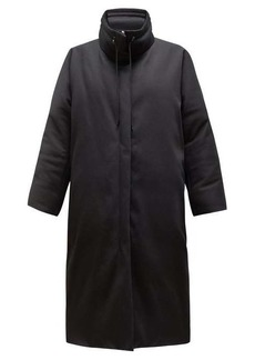The Row Reka high-neck down-filled cotton coat