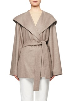THE ROW Reyna Hooded Wrap Coat