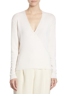 The Row Roanna Silk & Cashmere Top