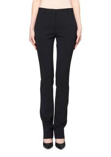 THE ROW Roosevelt Slim-Leg Wool Pants