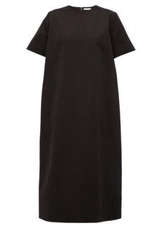 The Row Rory cotton twill midi dress