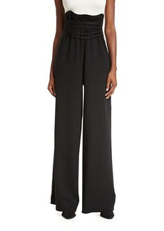 THE ROW Roy High-Waist Wide-Leg Pants