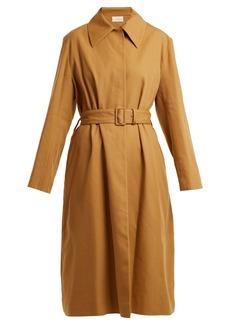 The Row Rundi Panama linen trench coat