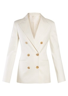 The Row Rupsen double-breasted jacket