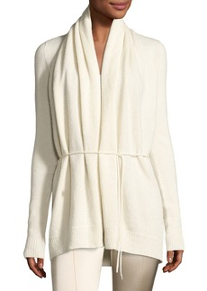 THE ROW Sarene Cashmere Tie-Waist Cardigan