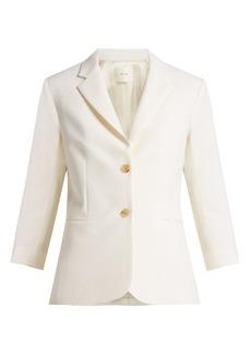 The Row Schoolboy tailored wool-blend blazer