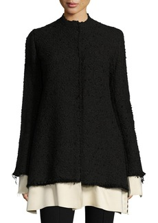 THE ROW Schrader Contrast-Trim Boucle Jacket