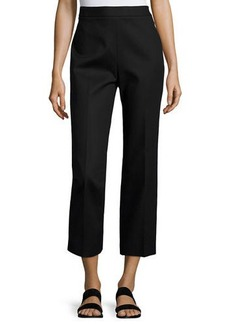 THE ROW Seloc Straight-Leg Cropped Pants