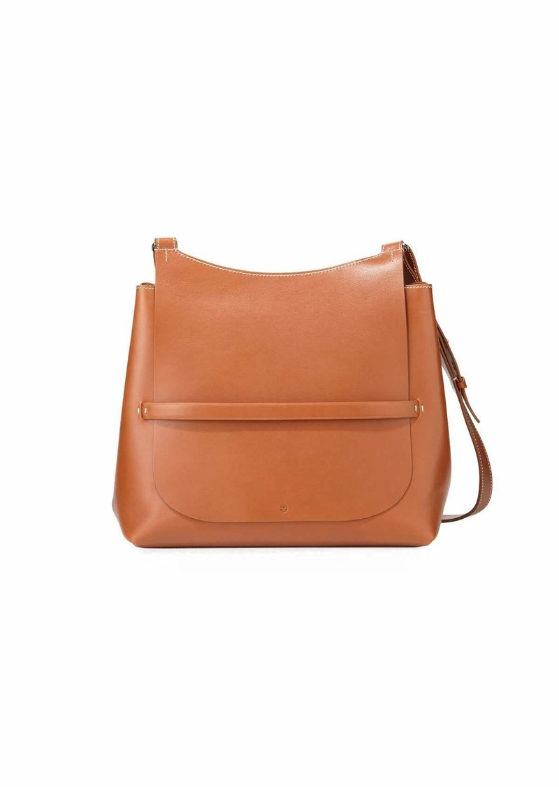 cf713134a2 SALE! The Row Sideby Smooth Leather Crossbody Bag